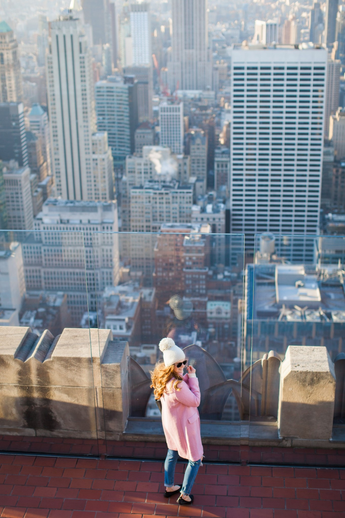 Lifestyle blogger Mollie Sheperdson heads to the Top of the Rock to celebrate her 2 year blogiversary!