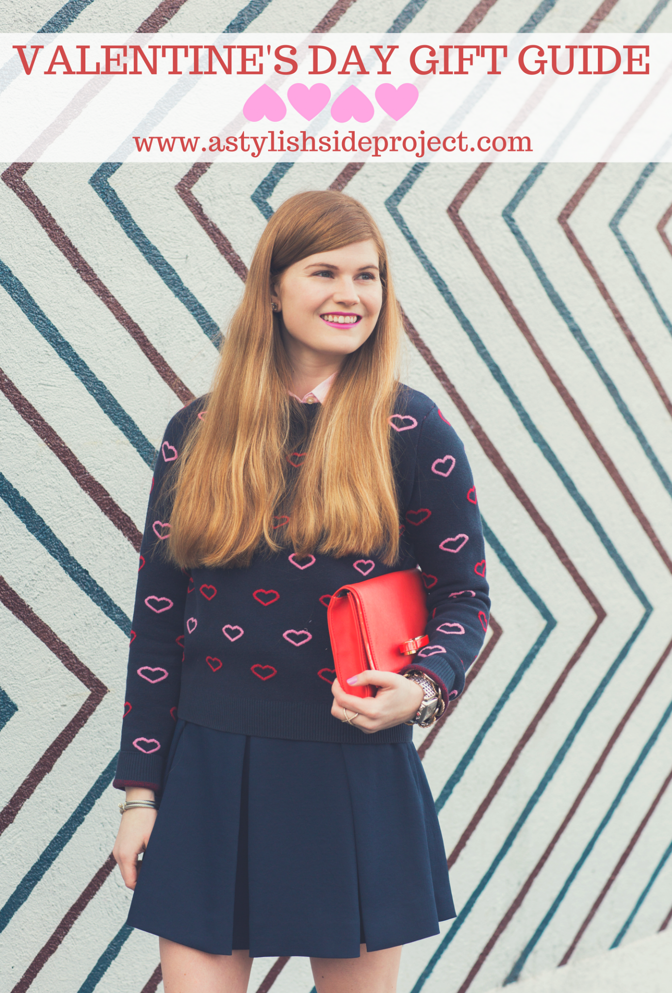 Lifestyle blogger Mollie Sheperdson shares her Valentine's Day gift guide