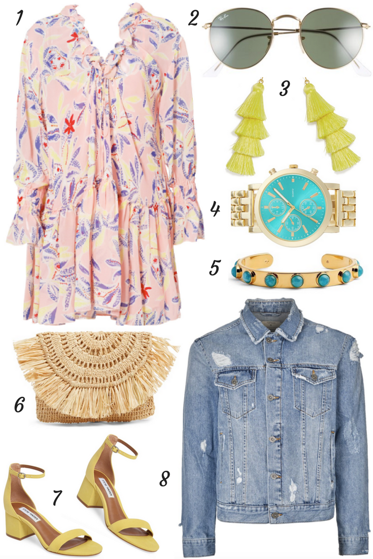 Lifestyle blogger Mollie Sheperdson shares a fun spring outfit