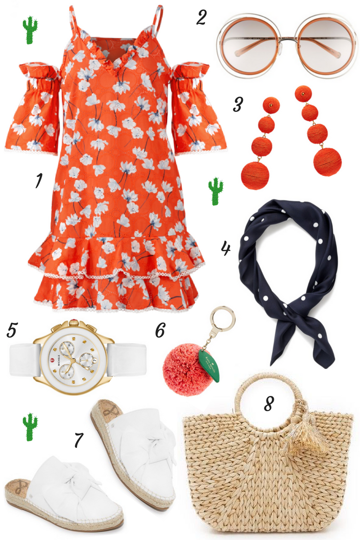 Lifestyle blogger Mollie Sheperdson shares an outfit idea for Palm Springs